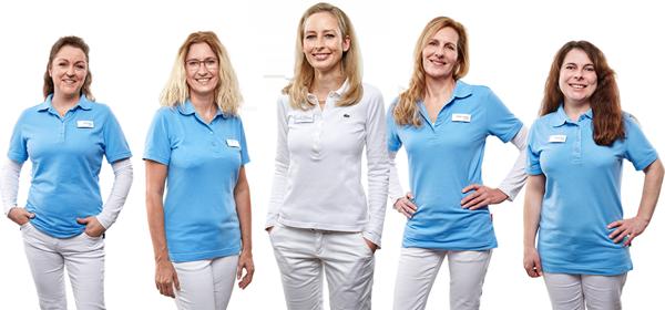 Zahnarzt-Team